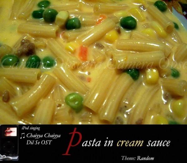Pasta, Camera Obscura, Pranshu
