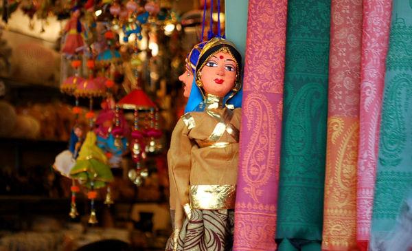 Puppet Janpath Rajashatni Gudiya Handicraft Indian