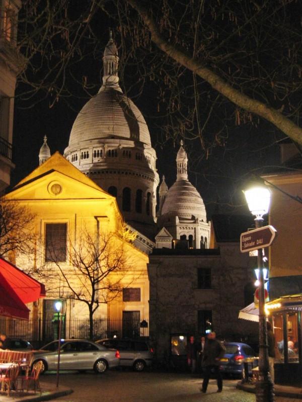 Sacré-Coeur by night