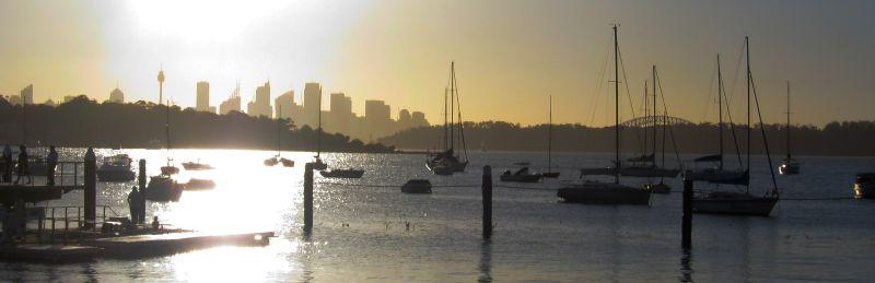 Watson's Bay, Sunset