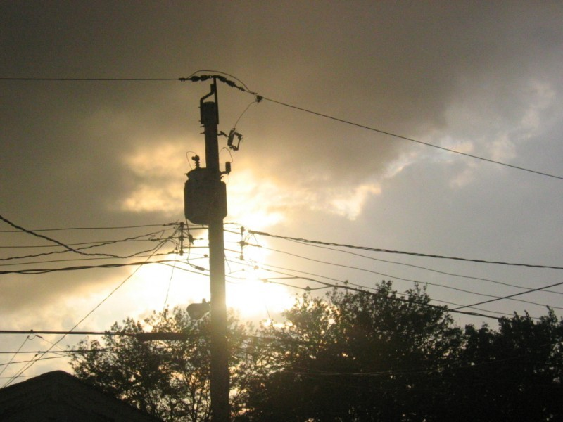 sun shower sky