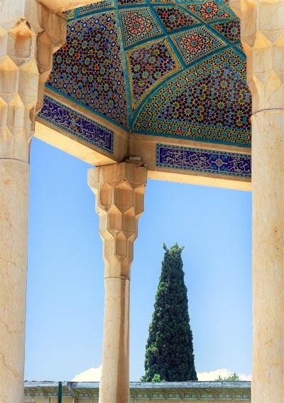 Hafiz's mausoleum