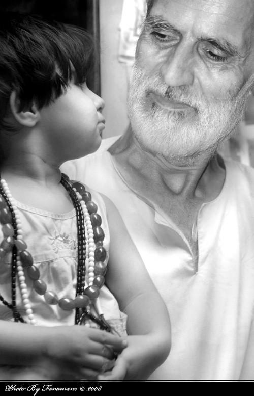 Life Portrait grandpa Faramarz