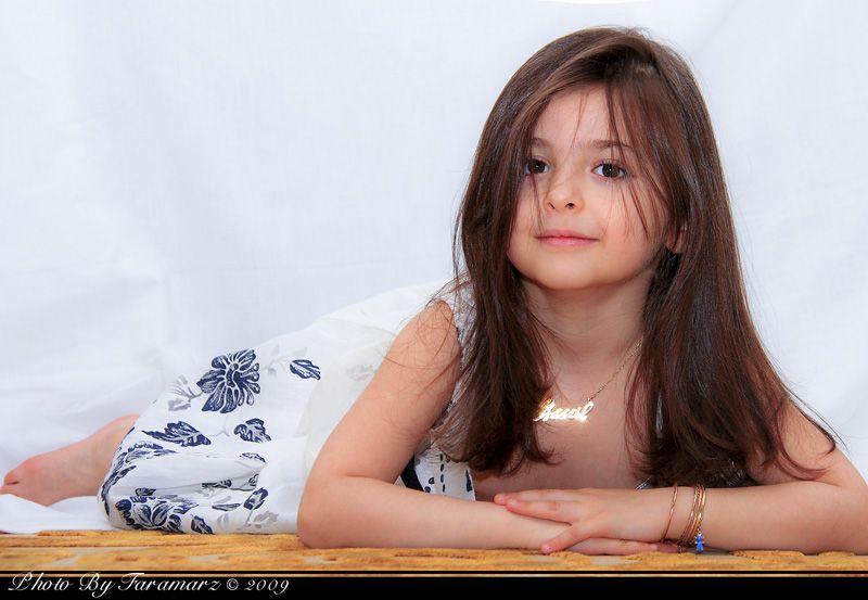 Girl Faramarz Model child