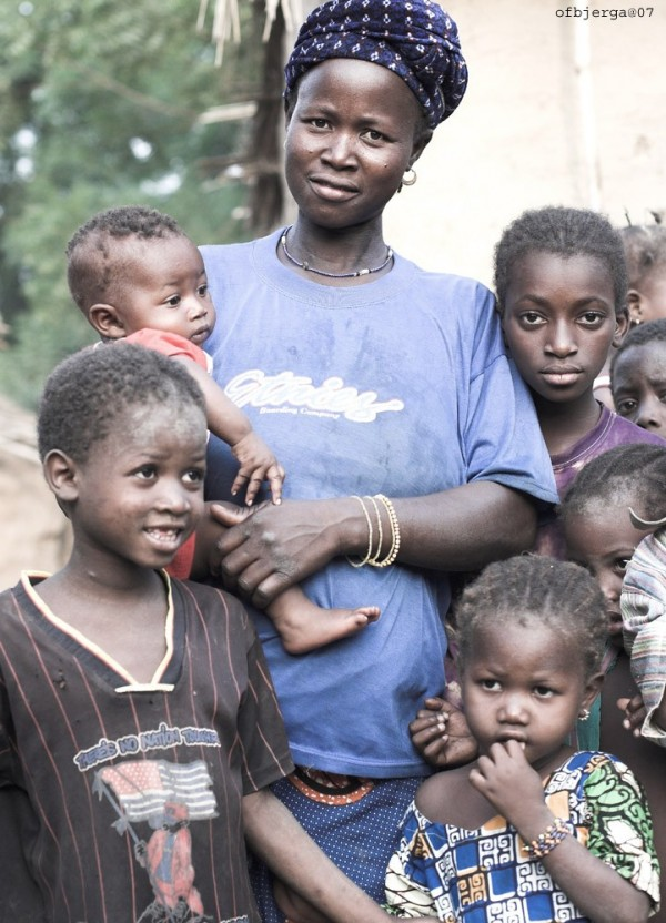 Family in Mali