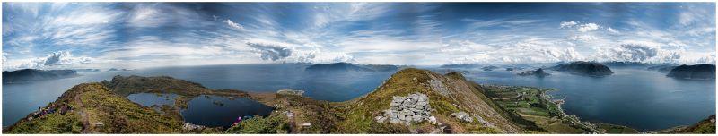 360 degrees panorama