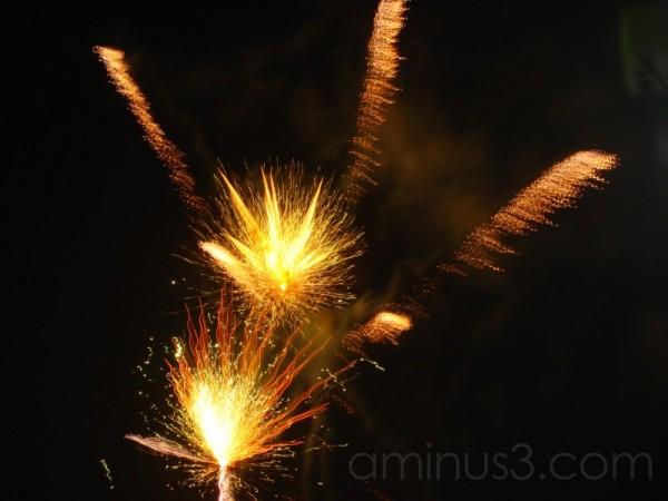 Fireworks in Asakusa