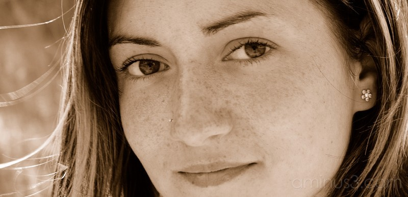 Valérie's portrait.