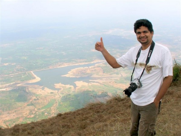 At the top of Nelliampathy Hills, Palakkad