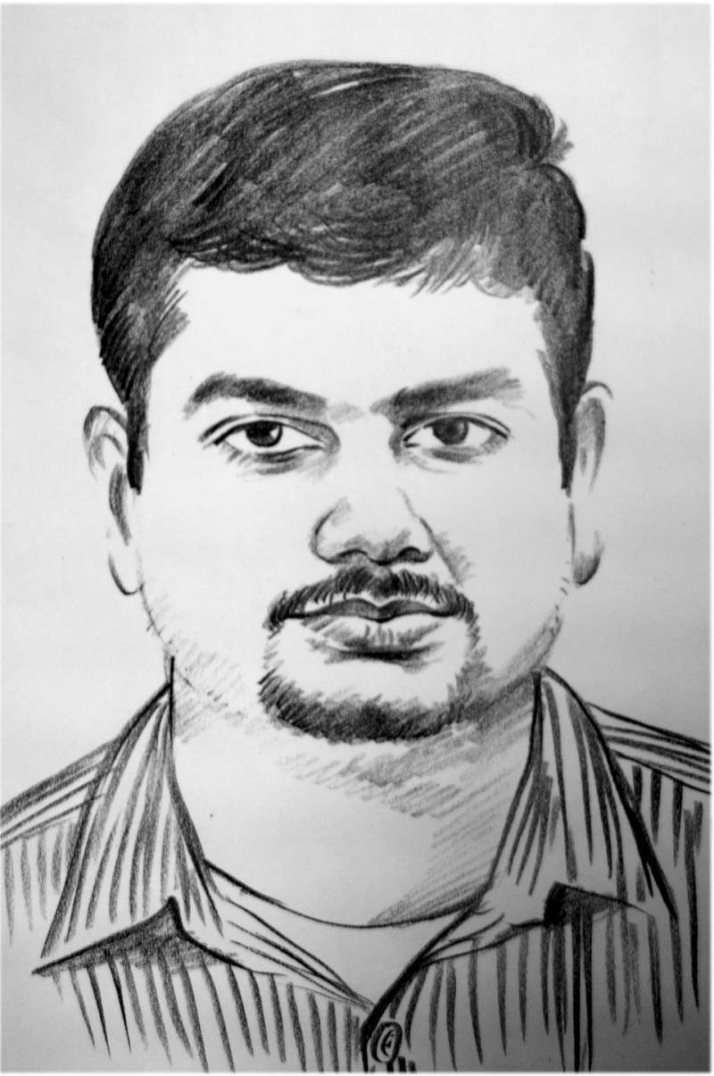 My portrait made by Joby Trichur