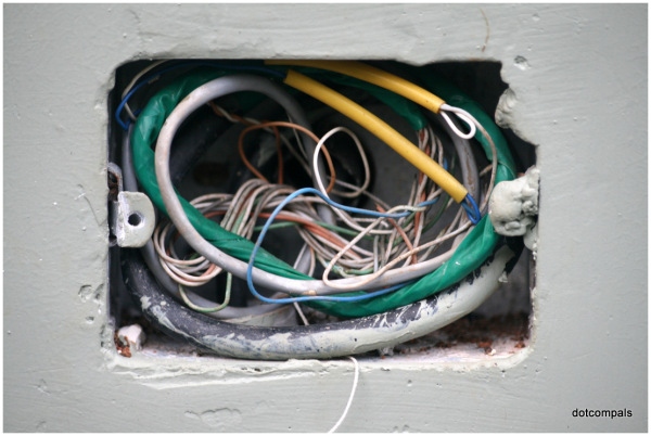Wires inside a Box