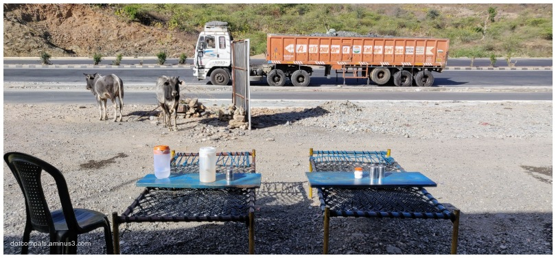 "A Roadside ""dhaba"" - NH 48, Parsad, Rajasthan 3138"