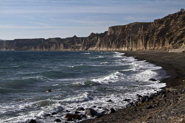 La plage de Monolithos