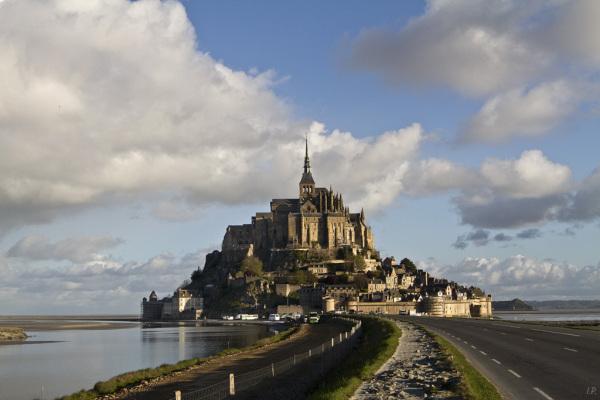 Lever du jour sur le Mont St Michel