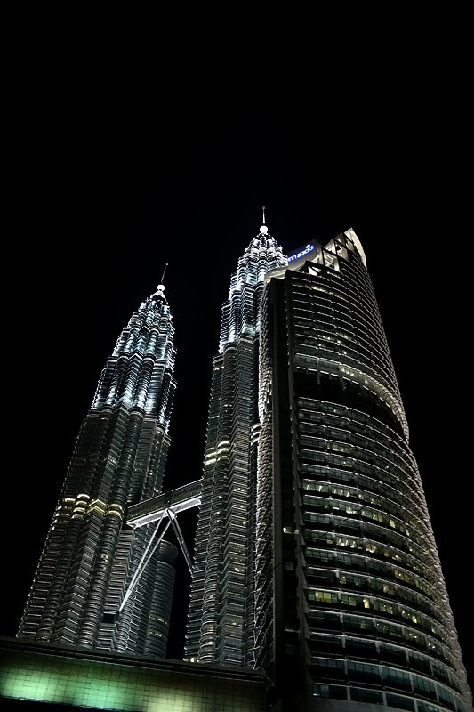 The Petronas KLCC Twin Towers