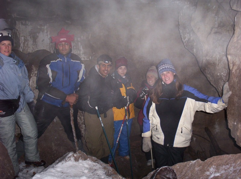 Winter Caving