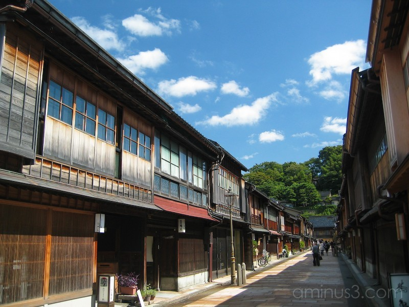 Kanazawa's Higashi Chaya, Geisha District, Japan