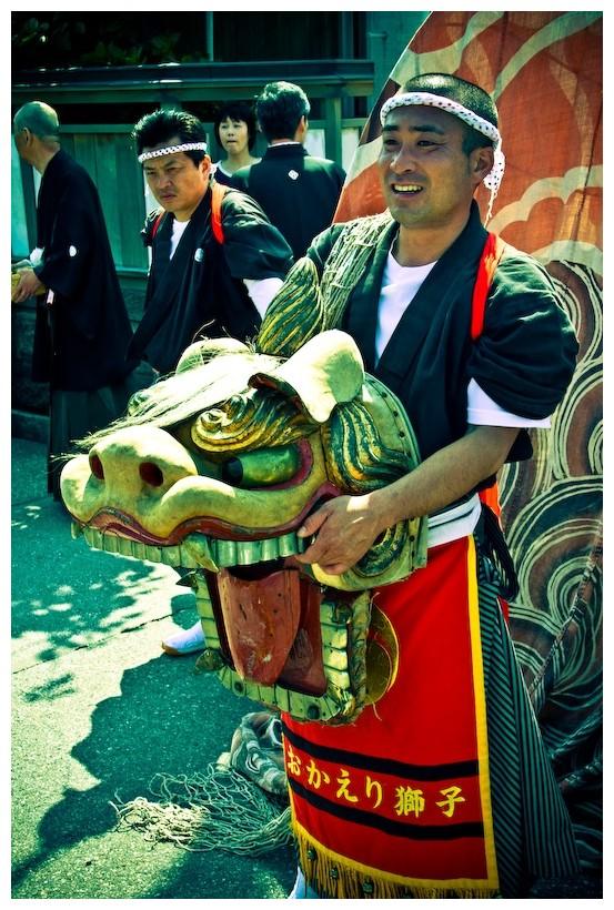 dragon costume festival japan ishikawa