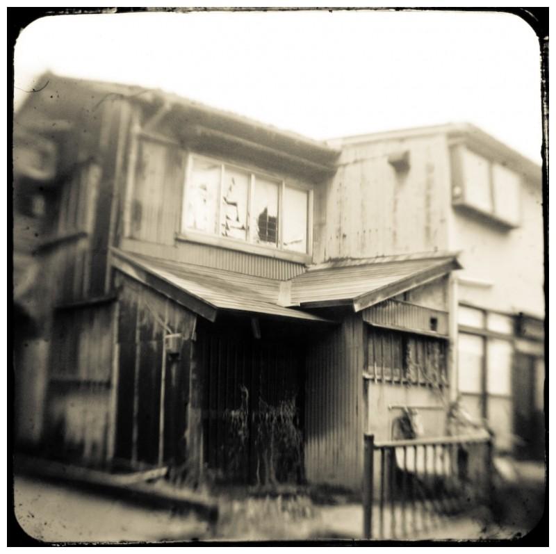 decepit house in Kanazawa