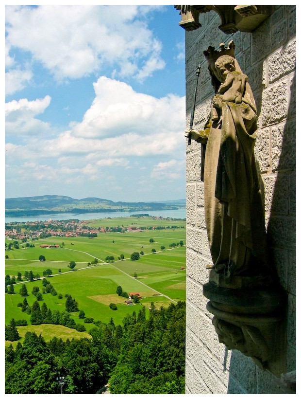 Germany Munich Neuschwanstein Castle Bavaria