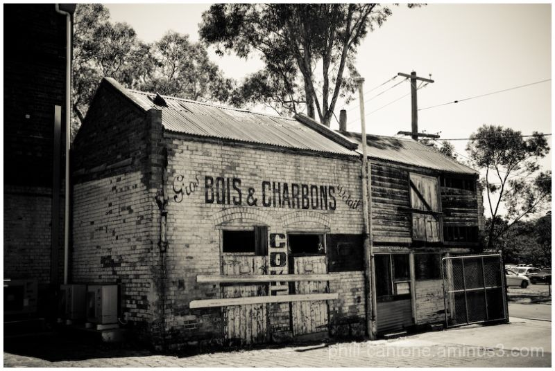 An old building in the heart of Melbourne