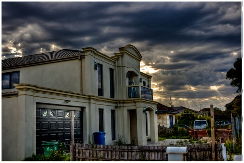 HDR capture of overcast day