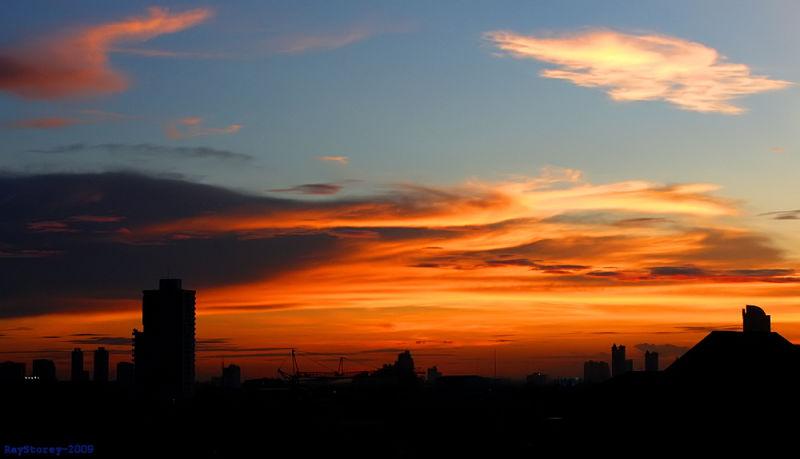 Sunset, Bangkok
