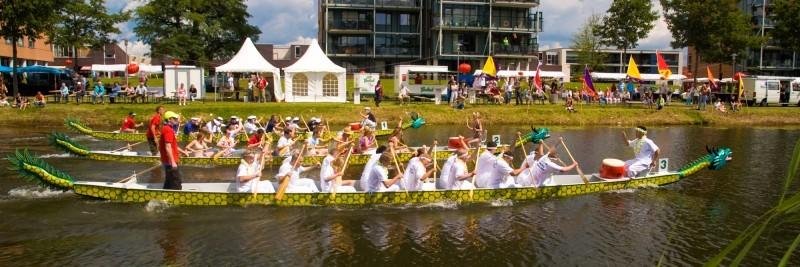 dragon boat racing kanaal noord Apeldoorn