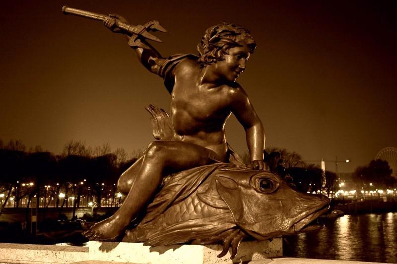 Details pont alexandre III