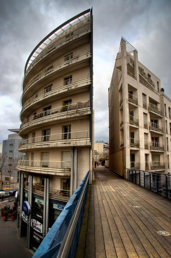 Passerelle rue de Charenton Paris XII