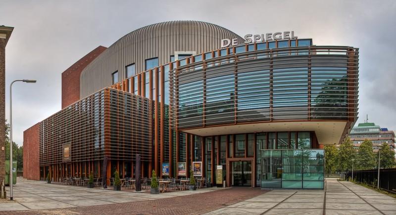 Theater de spiegel zwolle architecture photos pouhou for Spiegel minus