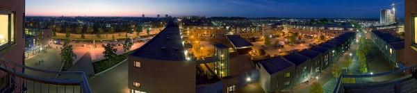 Apeldoorn Linie cityscape Nightshot