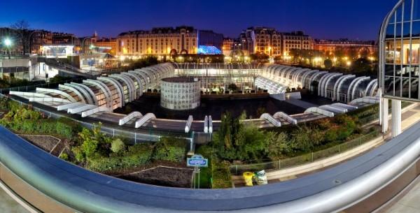 Forum des Halles, France, Paris, panorama