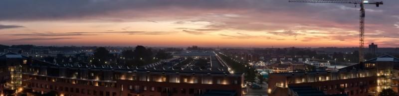 Sunrise Apeldoorn Cityscape
