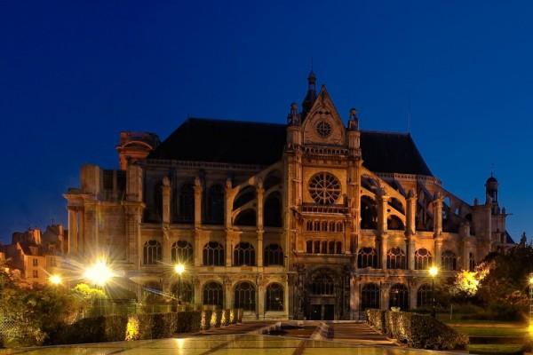 St Eustache, Les Halles, Paris
