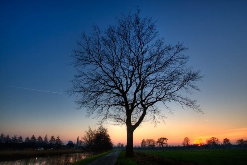 Sunset, Kanaal Noord, Apeldoorn