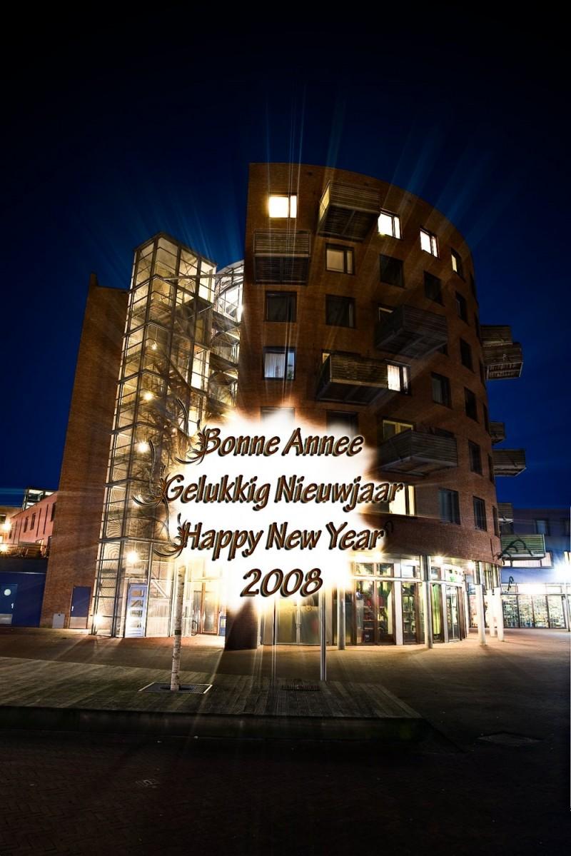"""""""Happy-New-Year-2008"""", Apeldoorn"""