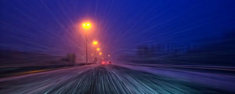 Snow, tempest, Belgium