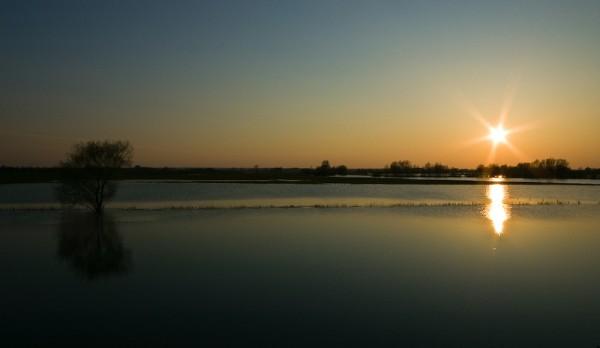 Sunset, Ijssel, Zutphen