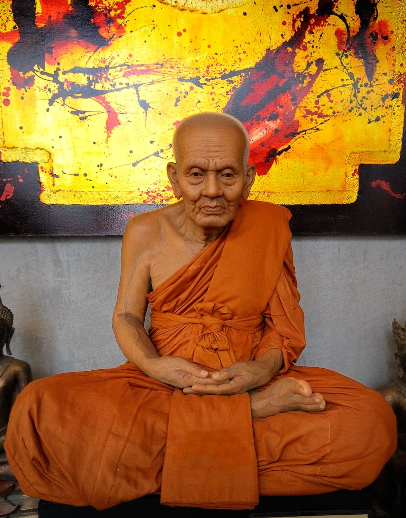 Wax-monk, Secrets-of-Asia, Deventer