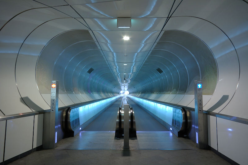 Public-Tunnel, Wilhelminaplein, Rotterdam