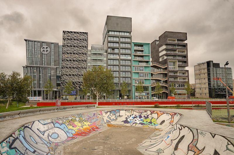 Lelystad Cityscape, Zilverparkkade, Lelystad