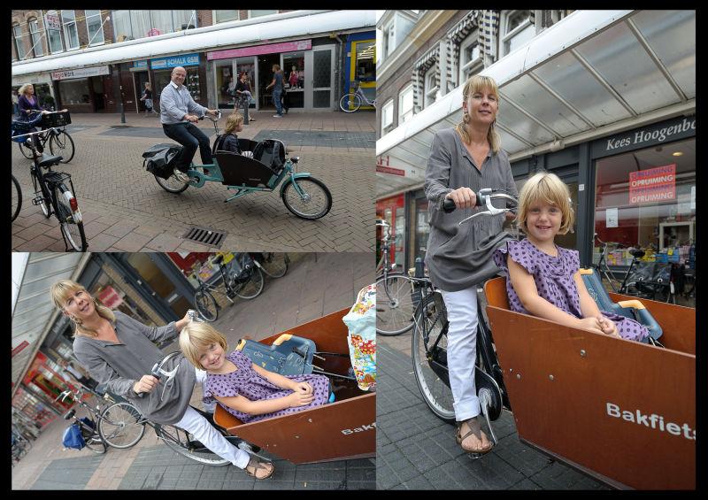 Cargobike Long, Generaal Cronjestraat, Haarlem