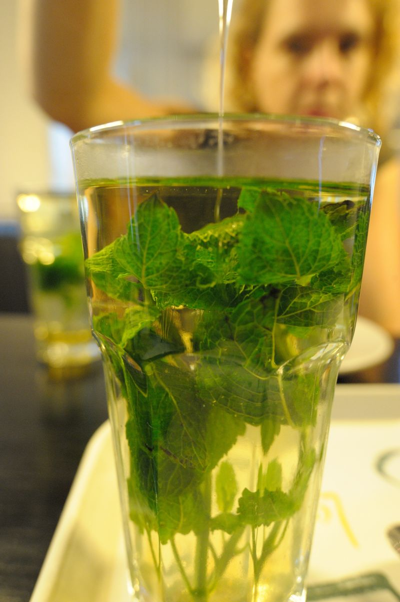 Mint Tea and Honey, Laplace ODE Library, Amsterdam