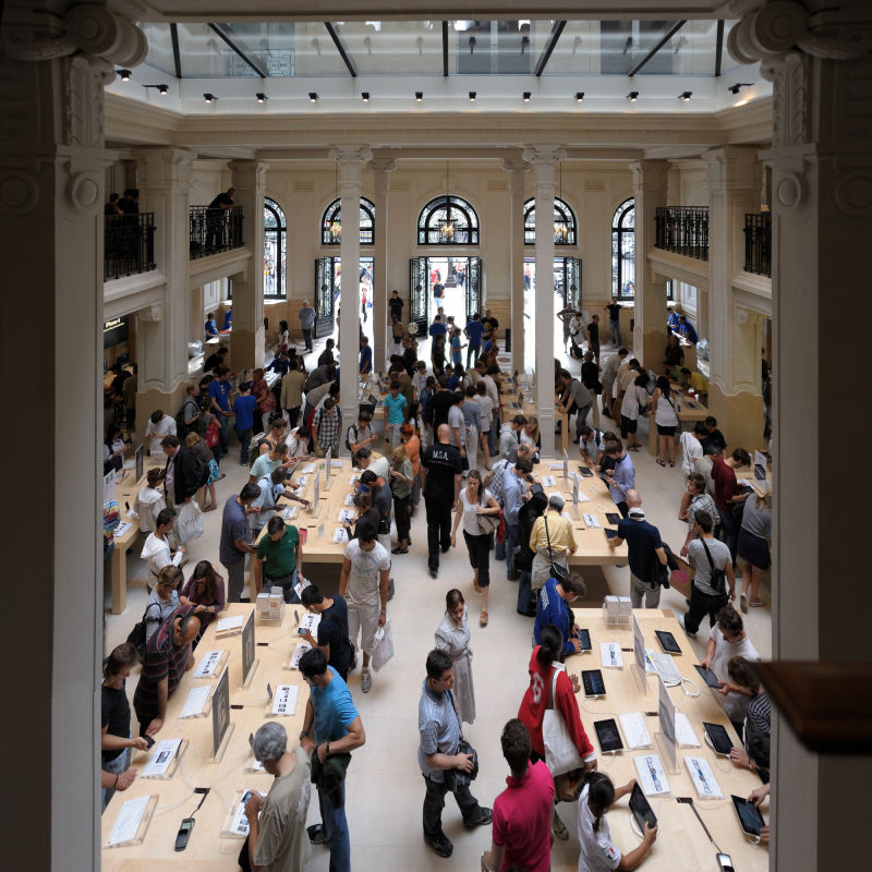 Apple Store, Opera, Paris