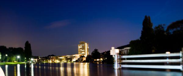 Tilt Mariastichting cityscape in Haarlem