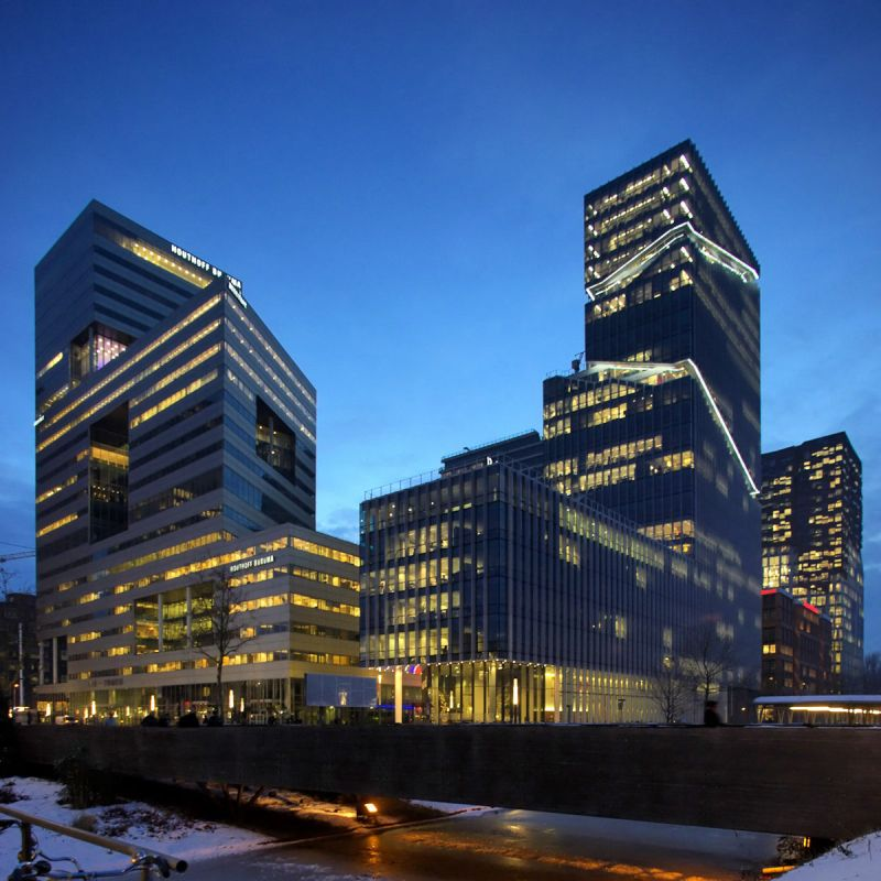 World Trade Center Area, Amsterdam