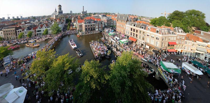 Cityscape, Leiden