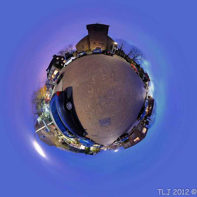 Immanuel Kerk, Mini-planet, Haarlem