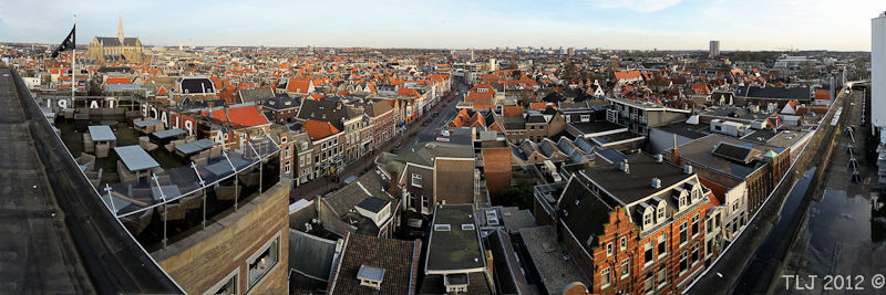Haarlem Cityscape, Rooftop V&D Haarlem